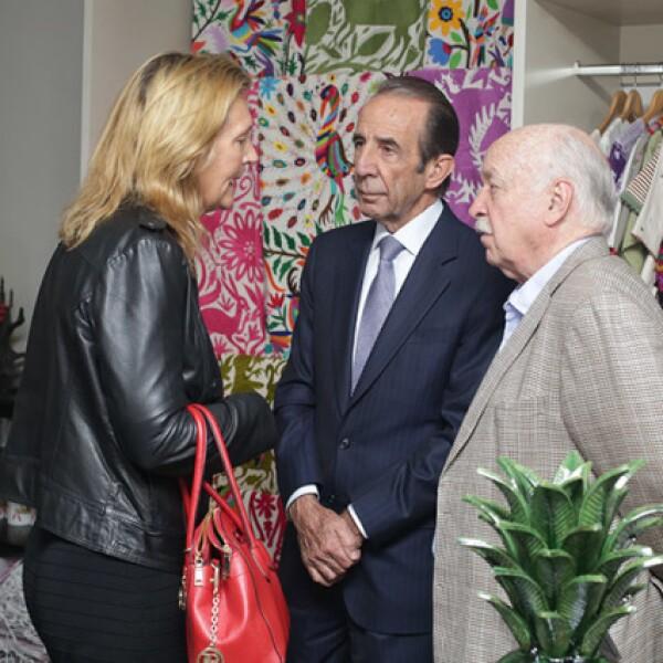 Angeline Fournier,Manuel Arango y Bruno Newman