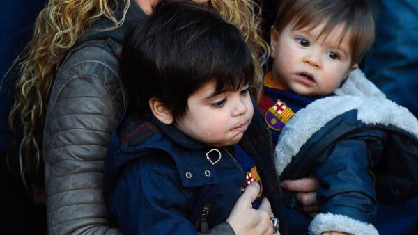 En uno de los más recientes partidos del Barça contra Real Sociedad, la familia Piqué Mebarak se hizo presente para apoyar al futbolista.