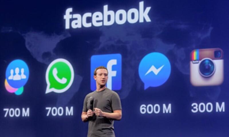 Mark Zuckerberg dijo que Facebook es ahora una familia de aplicaciones. (Foto: Tomada de facebook.com/zuck)