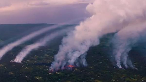 Los riesgos de salud de una erupción volcánica son más que fuego y lava