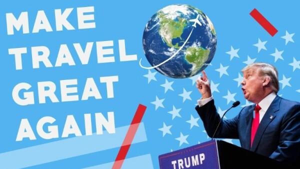Donald Trump es un verdadero hombre de mundo, incluso si el mundo no lo ve así.