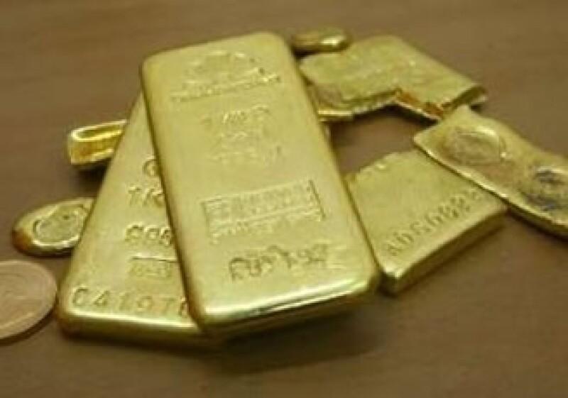 En NY los futuros de oro para entrega en diciembre subieron 5.70 dólares. (Foto: Reuters)