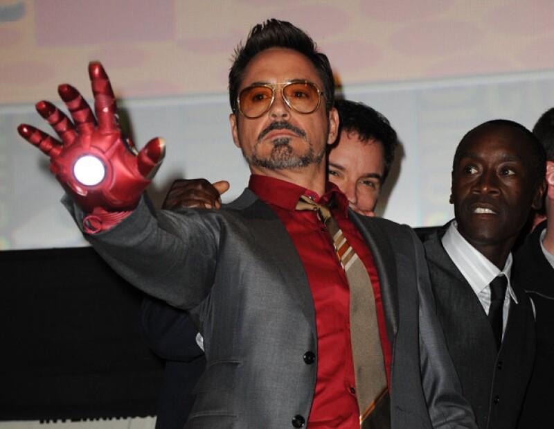La producción se esperará hasta que el reconocido actor se recupere, sin embargo no afectará el estreno de la cinta, programada para el 3 de mayo de 2013.