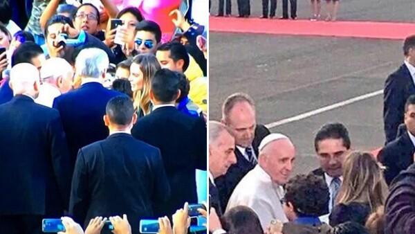 Este miércoles varios medios publicaron que la periodista Valentina Alazraki había puntualizado que la cantante cometió una imprudencia durante la visita del Pontífice a Morelia, Michoacán.