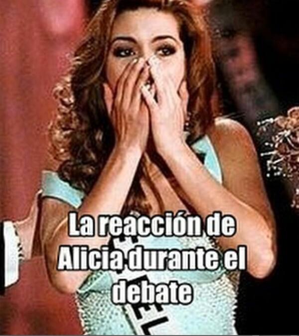 Meme de Hillary Clinton y Alicia Machado.
