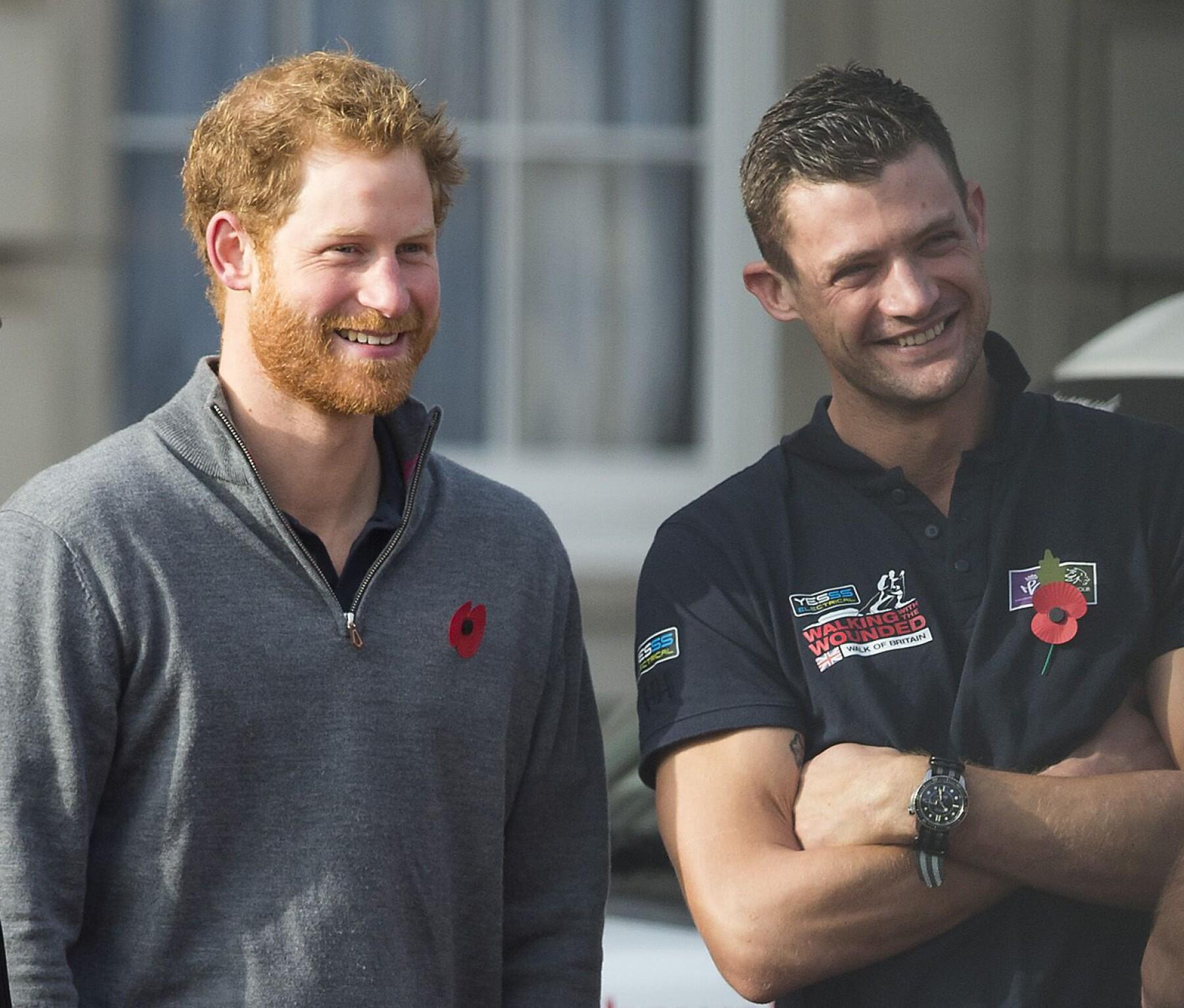 Príncipe Harry y Jules Roberts