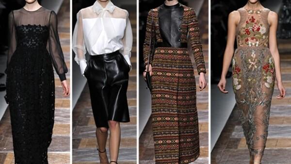 Maria Grazia Chiuri y Pier Paolo Piccioli continúan con el legado del cavaliere de la moda italiana.