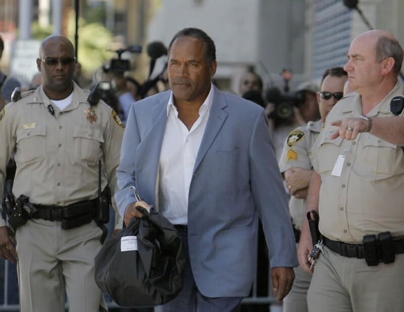 O.J. Simpson apeló a la sentencia de 33 años en prisión, pero le fue denegada.