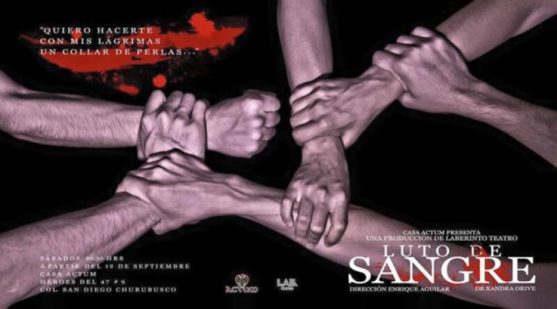 La obra se presenta todos los sábados en Casa Actum, en la Ciudad de México.