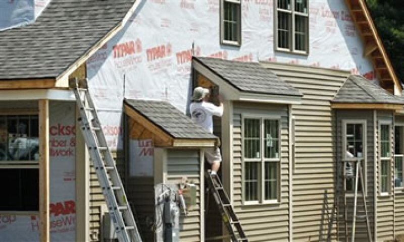 Las casas nuevas terminadas se incrementaron en 11.8% a 636,000 unidades en julio. (Foto: AP)