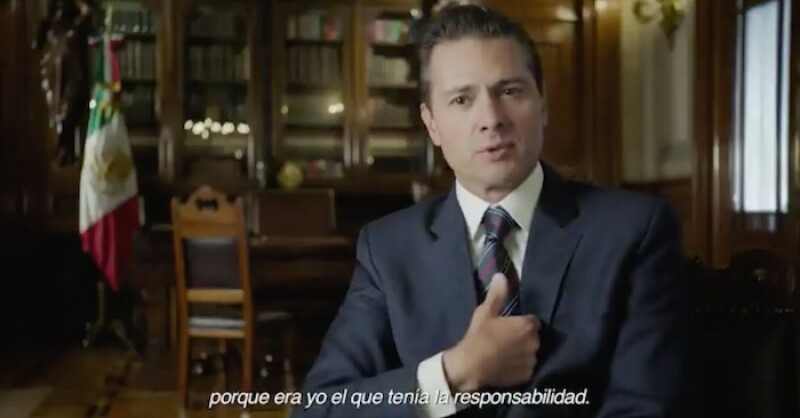 Peña Nieto habla sobre la casa blanca