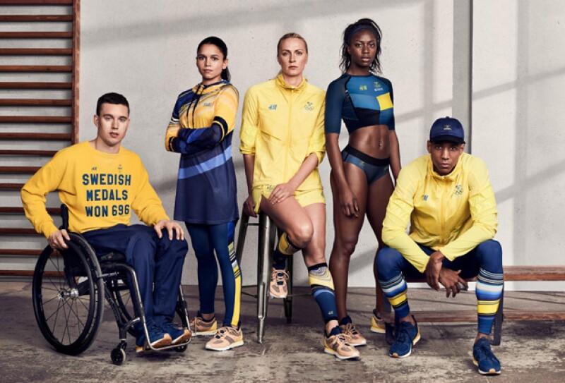 Desde la inauguración de los Juegos Olímpicos, el equipo de Suecia ha lucido diseños de la marca fast fashion. ¿Los has visto?