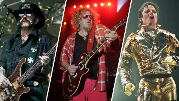 Lemmy Kilmister, Sammy Hagar y Michael Jackson