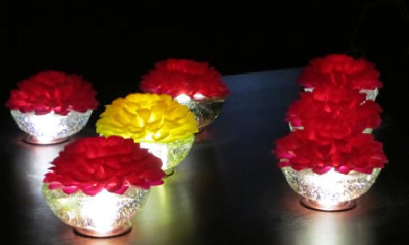 Las lámparas de Valeria Florescano combinan un diseño práctico con la estética artesanal. (Foto: Viridiana Mendoza)
