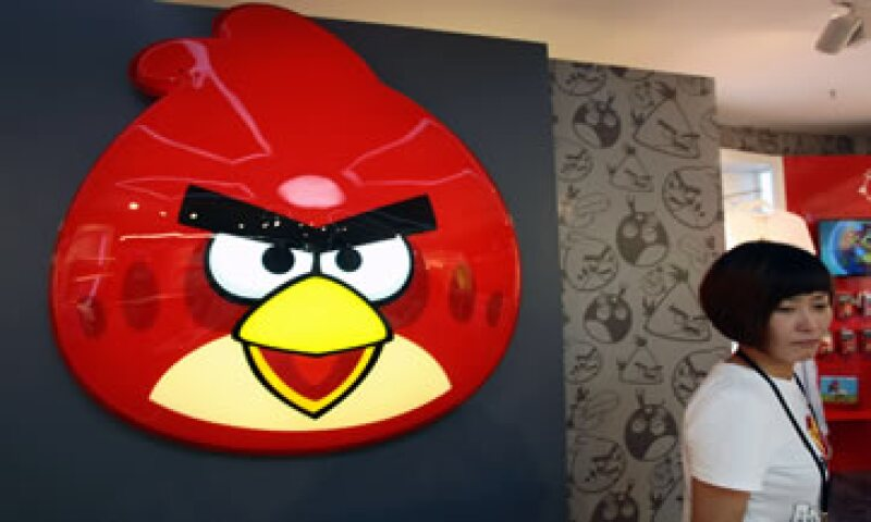 Rovio recientemente expandió la marca Angry Birds a una serie animada de televisión, juguetes y ropa. (Foto: AFP )