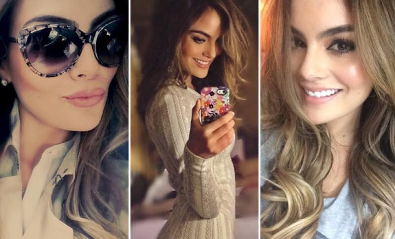 La ex Miss Universo es adicta a las selfies, y en todas se ve muy guapa.