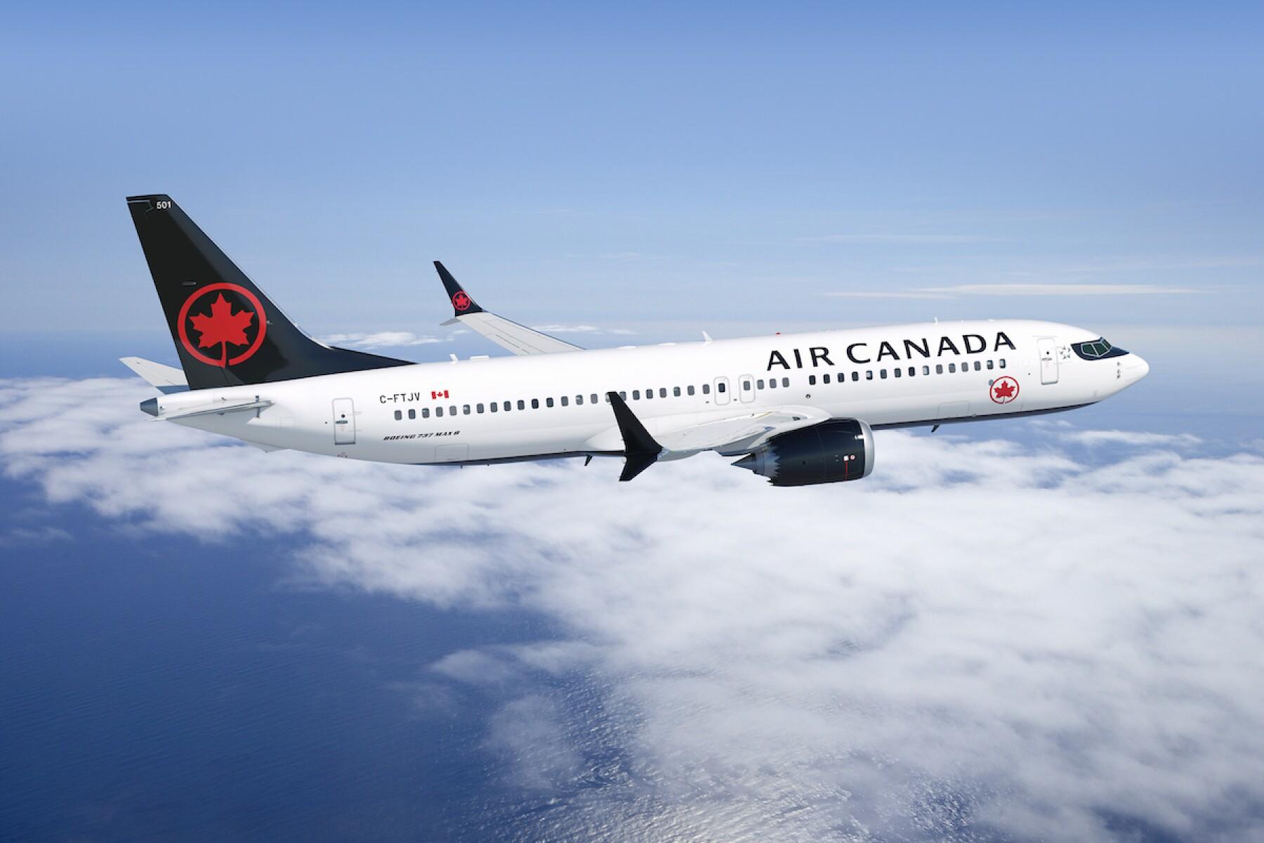 La crisis del 737 MAX limita el crecimiento de Air Canada en México