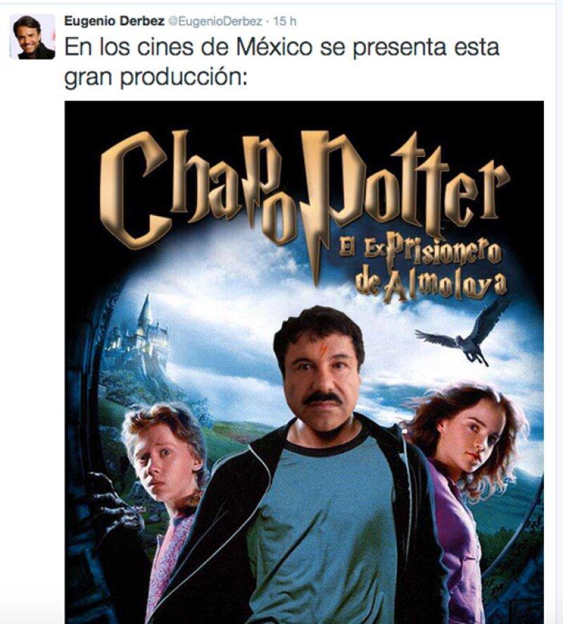 Los famosos mexicanos utilizaron sus redes sociales para expresar su opinión sobre la segunda ocasión en la que el narcotraficante se escapa de la cárcel.