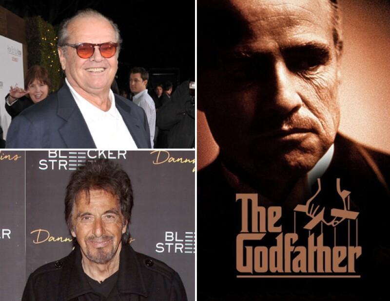 Jack Nicholson dejó pasar el papel al que dio vida Al Pacino en The Godfather