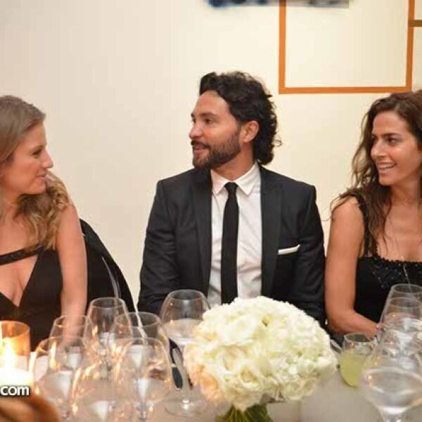 Mari Carmen López,Alejandro Maldonado y Paola Saad.