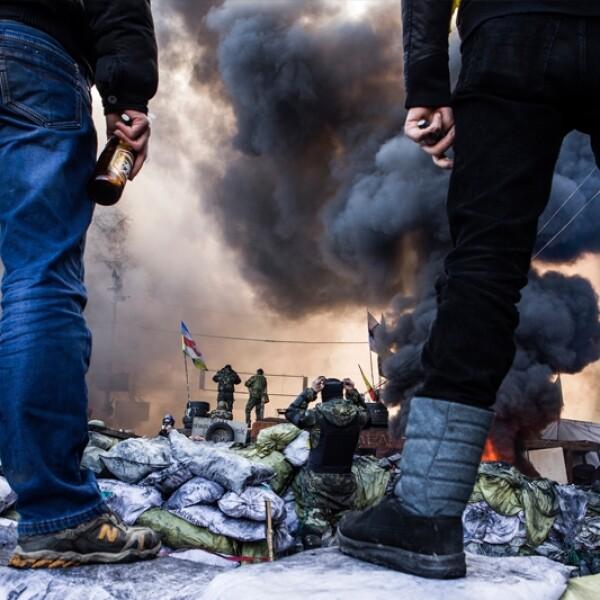 AFP ucrania, protestas