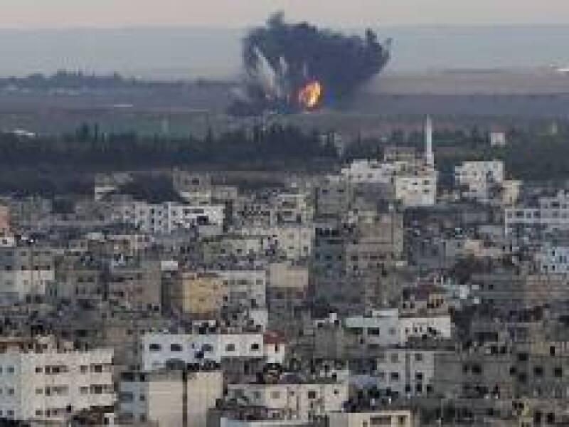 La Franja de Gaza lleva 6 días recibiendo ataques aéreos de Israel. (Foto: Reuters)