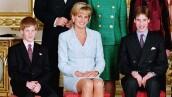 Príncipe Harry, princesa Diana y el príncipe William