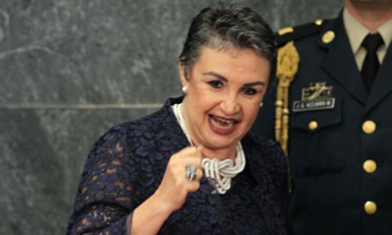 Yoloxóchitl Bustamente fue subsecretaria de educación media superior en el mandato de Vicente Fox. (Foto: AFP)