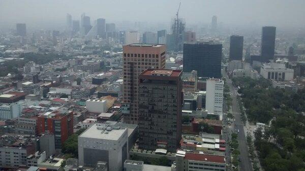 Un mes de mala calidad de aire en la Ciudad de México.