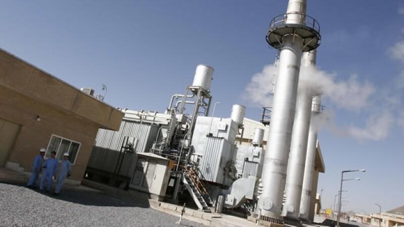 Reactor nuclear de Arak en Iran
