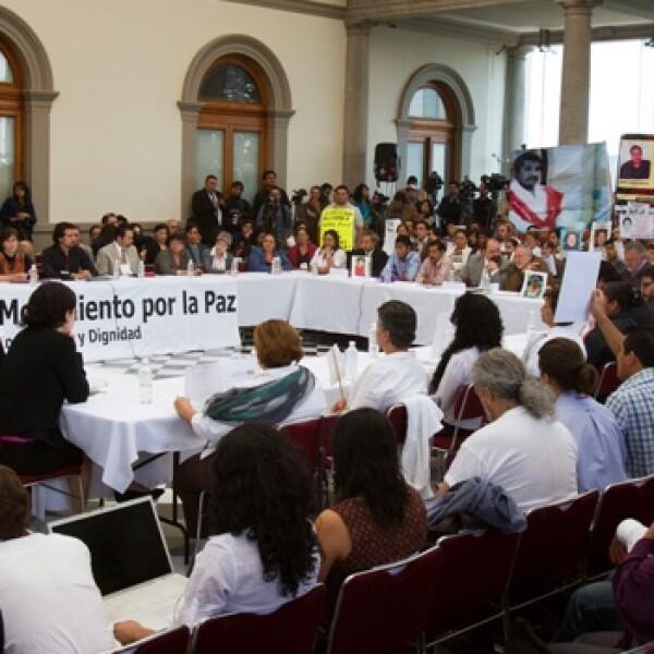 Movimiento por la Paz/candidatos a la presidencia