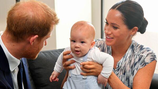 Harry, Archie y Meghan