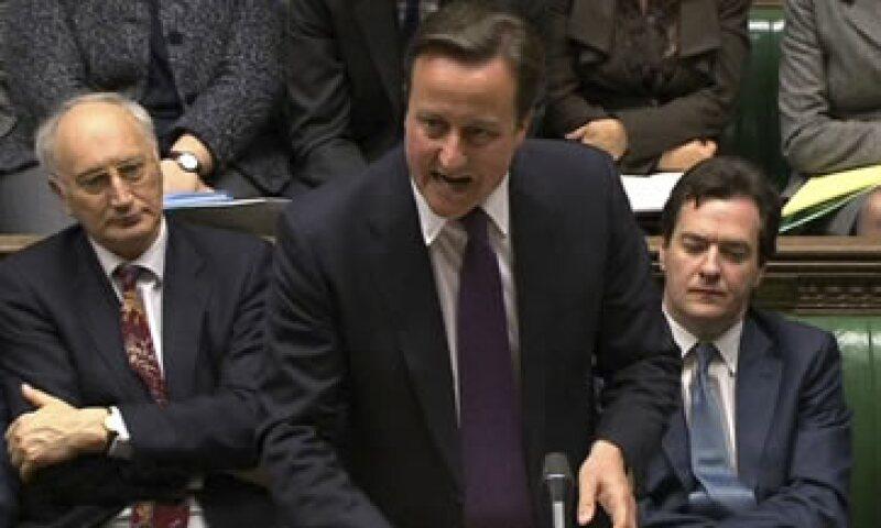 David Cameron dijo que es vital para el interés de Gran Bretaña seguir siendo miembro de la UE.  (Foto: AP)