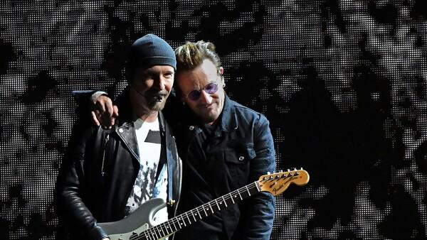 U2 ayuda a México