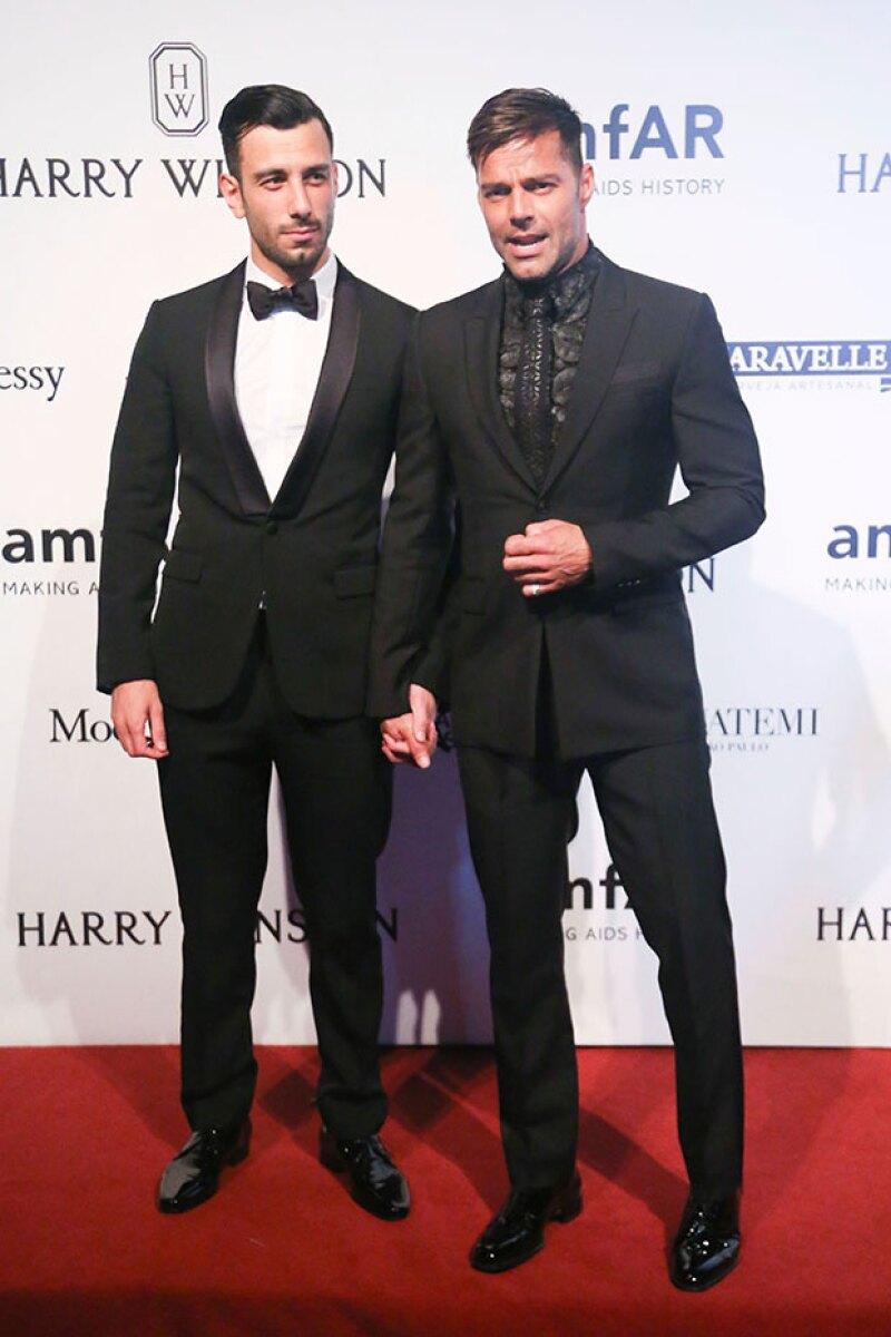 Con esta foto se confirma el noviazgo entre Ricky y Jwan Josef.