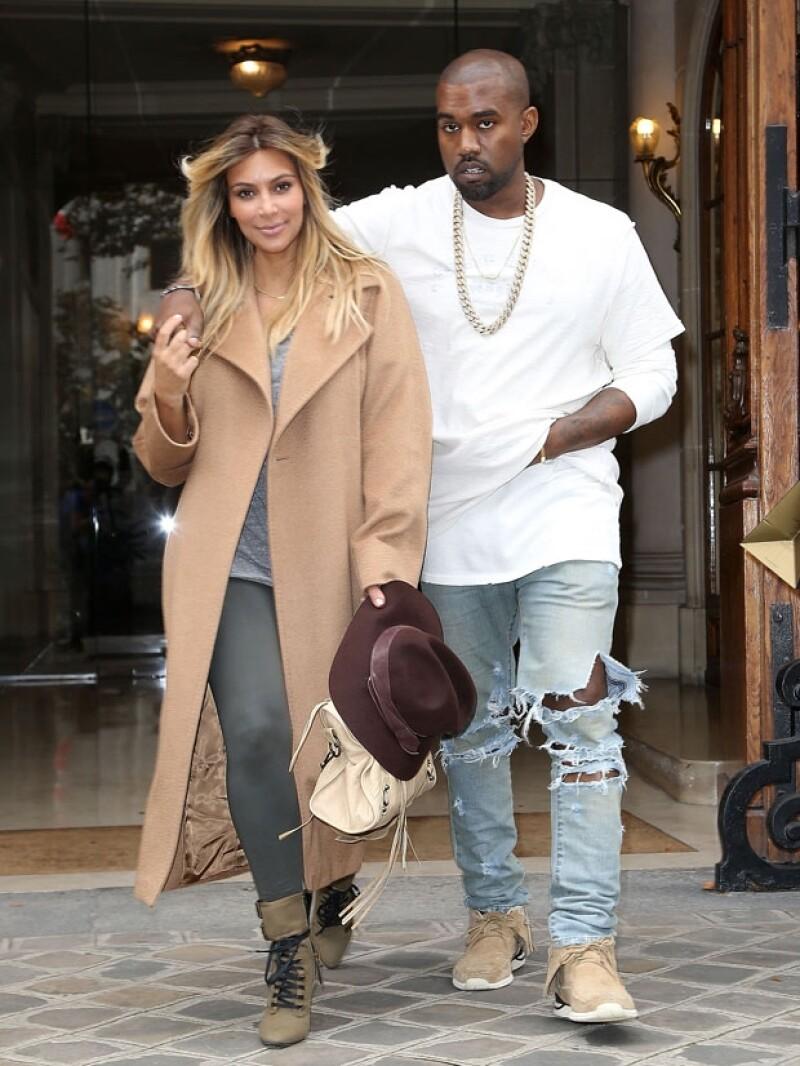 Por mucho que Kanye vea en Kim a una gran estrella, no tendrá una placa en el Paseo de la Fama.