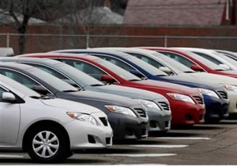 Toyota dejó el paso libre a las automotrices estadounidenses durante enero anterior. (Foto: AP)