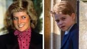 Princesa Diana y el príncipe George