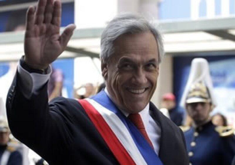 Sebastián Piñera instó a una rápida reconstrucción. (Foto: AP)
