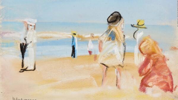 Figure am Strand