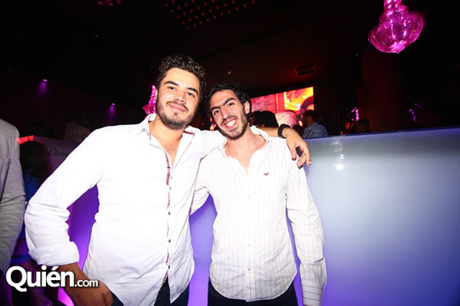 Paulo Zúñiga y Alejandro Zala