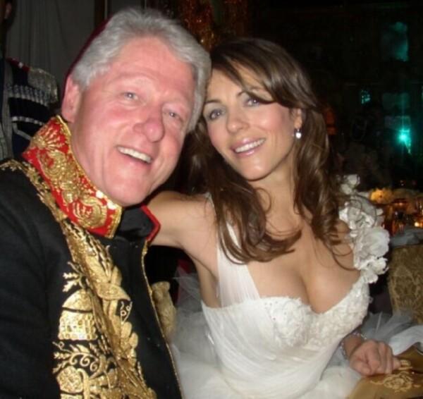 Esta foto fue tomada en noviembre de 2005, siete años después del supuesto affaire que tuvieron.
