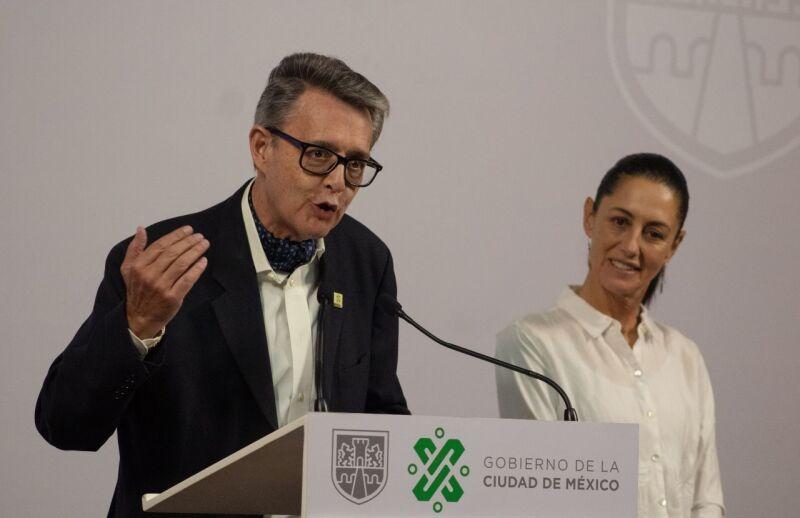 José Alfonso Suárez del Real, Secretario de Cultura y Claudia Sheinbaum Pardo, jefa de Gobierno, informaron en conferencia de prensa que el 21 de Marzo se realizará el Festival de Primavera de forma virtual, y como parte de las medidas de prevención p