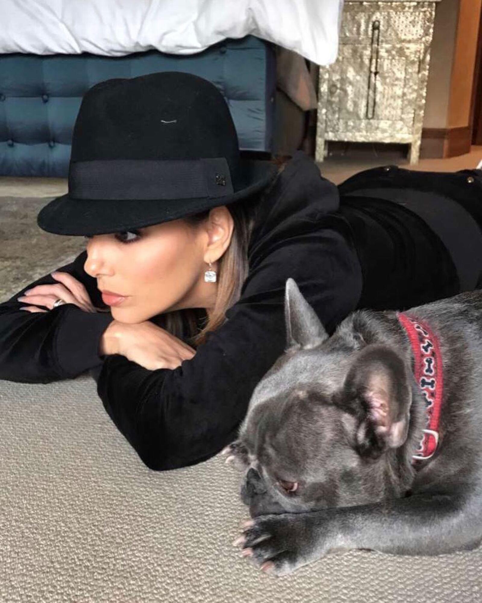 Popeye y Eva Longoria son amigos inseparables