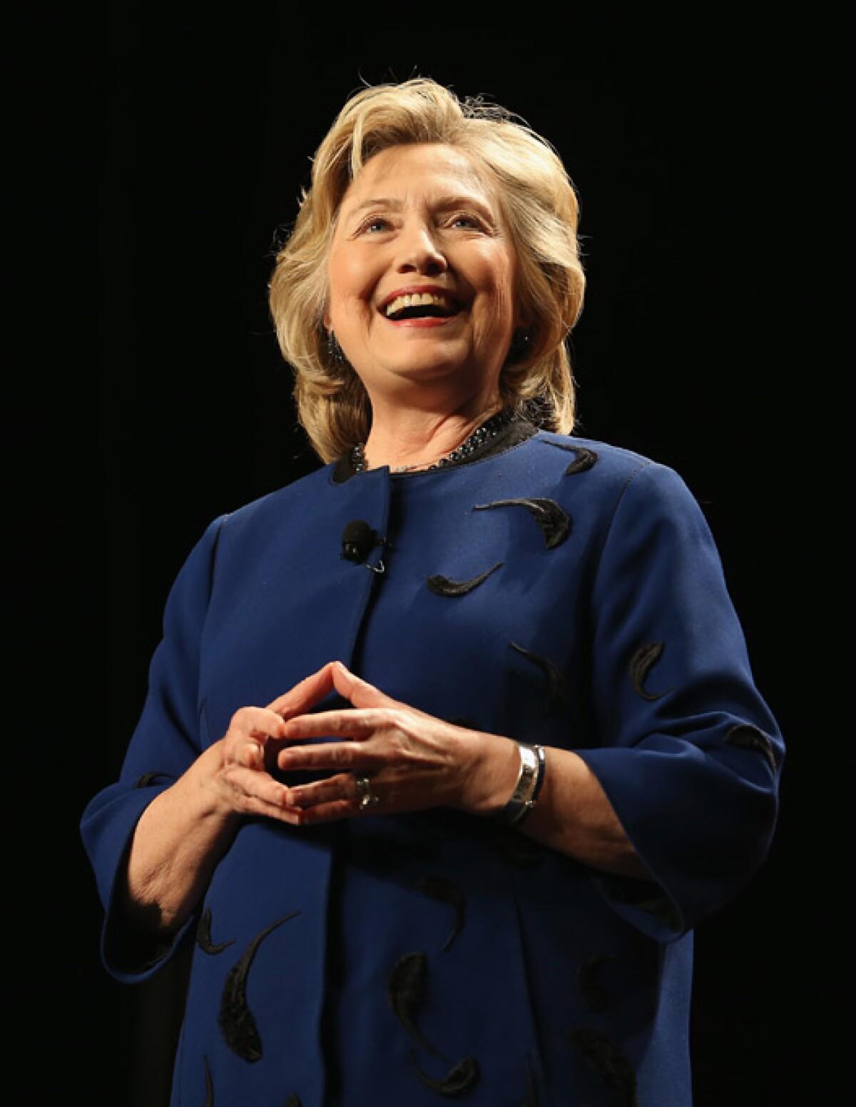 Estas son las celebridades que apoyan a Hillary Clinton