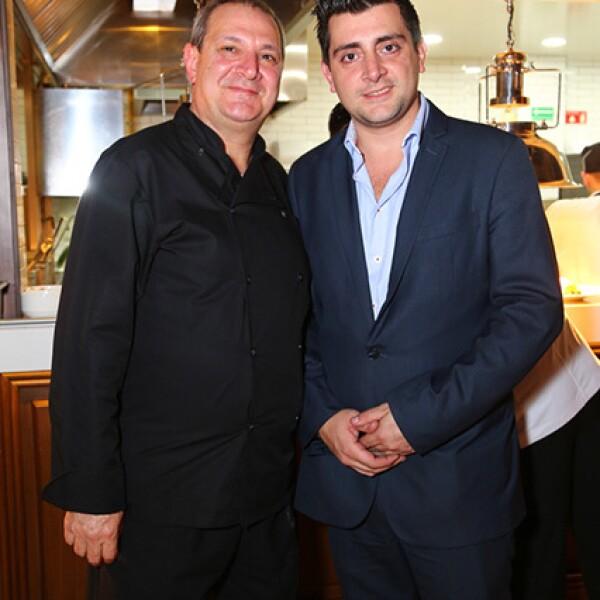 Chef Giuseppe de Nino y Giuseppe Jr.