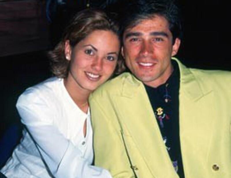 Bárbara Mori y Sergio Mayer se casaron en 1997 y tuvieron un hijo.