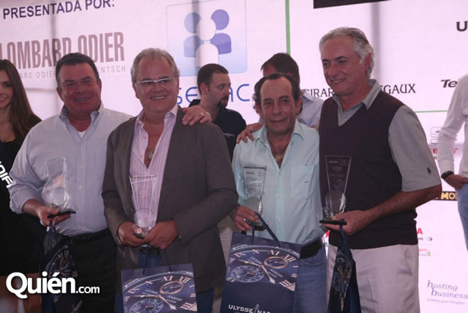 Carlos aguirre,Jaime Prieto,Eduardo Oveja,Rodrigo Lebois