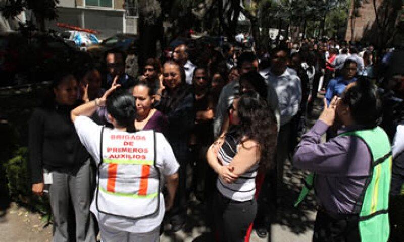 El sismo de este martes provocó pánico entre los habitantes de la Ciudad de México. (Foto: Notimex)