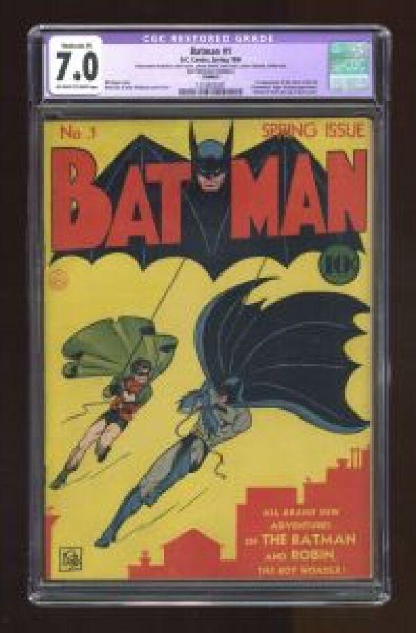 Primer cómic de Batman